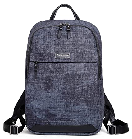 c9dbe6693f2b Wolfrealm Laptop Backpack for Women&Men Business Backpack Purse Lightweight  Rucksack Waterproof College School Pack Notebook Bag (13.3