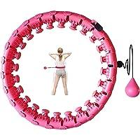 Hoelahoep, hoelahoep, voor volwassenen, hoelahoep met massagenoppen en 24 afneembare onderdelen, hoelahoep voor…