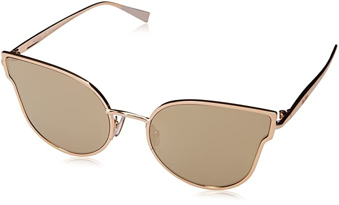 b8a52a6eee16 Image Unavailable. Image not available for. Color: Max Mara Women's Mm Ilde  Iii Cateye Sunglasses, Rose Gold ...