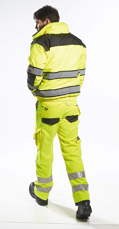 High Visibility Workwear UC466 Hi-Vis Classic Bomber Jacket Portwest