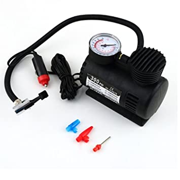 Bomba Mini portátil 12V Auto coche eléctrico del aire del compresor neumático Infaltor: Amazon.es: Electrónica