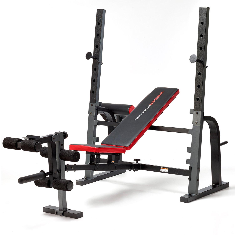 banc de musculation weider pro 550