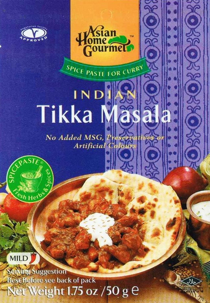 Asian Home Gourmet Indian Tikka Masala, 1.75-Ounce Boxes (Pack of 12)