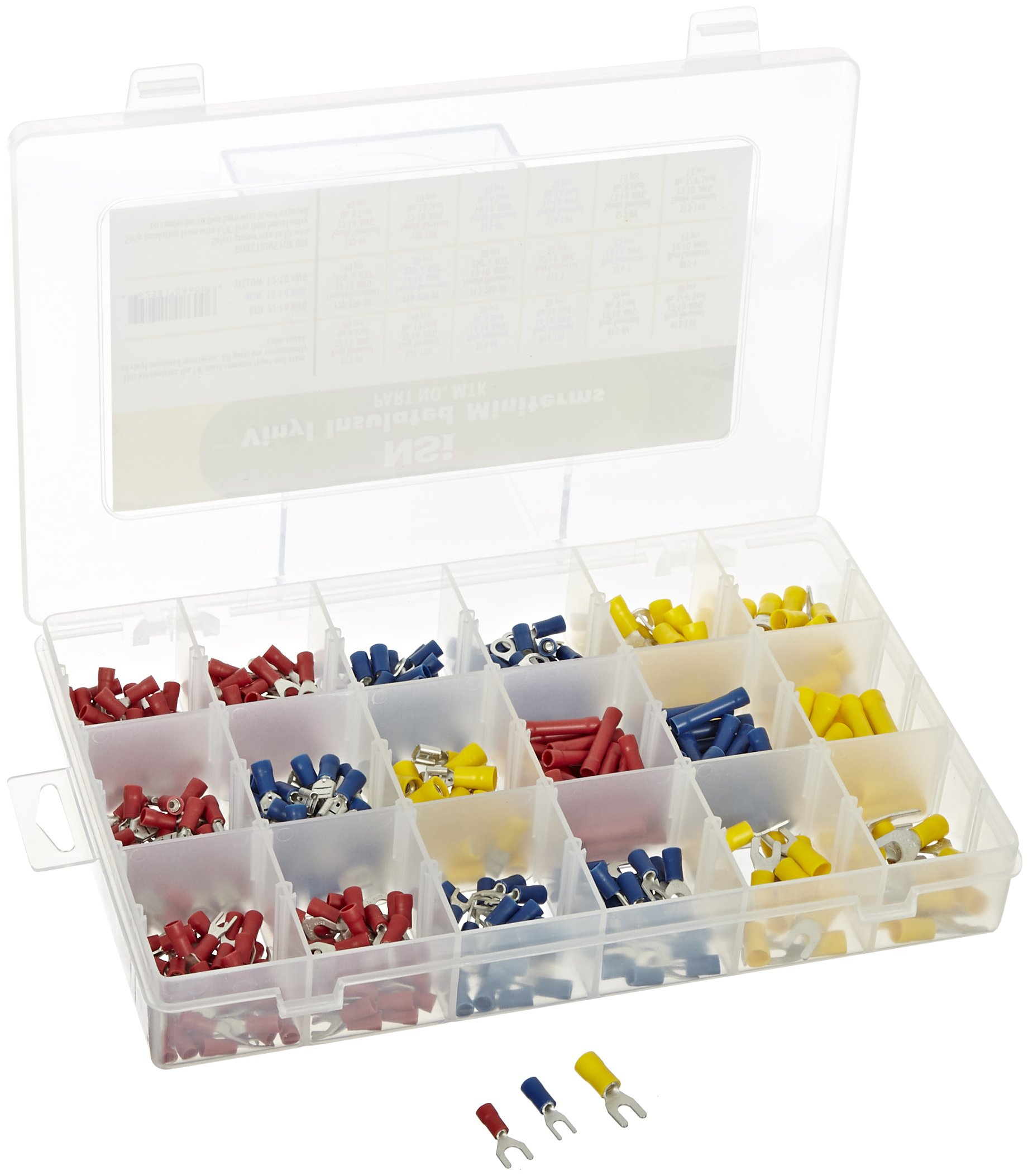 NSi Industries MTK-2 180-pc Miniterm Kit (with Tool) by NSi Industries (Image #1)