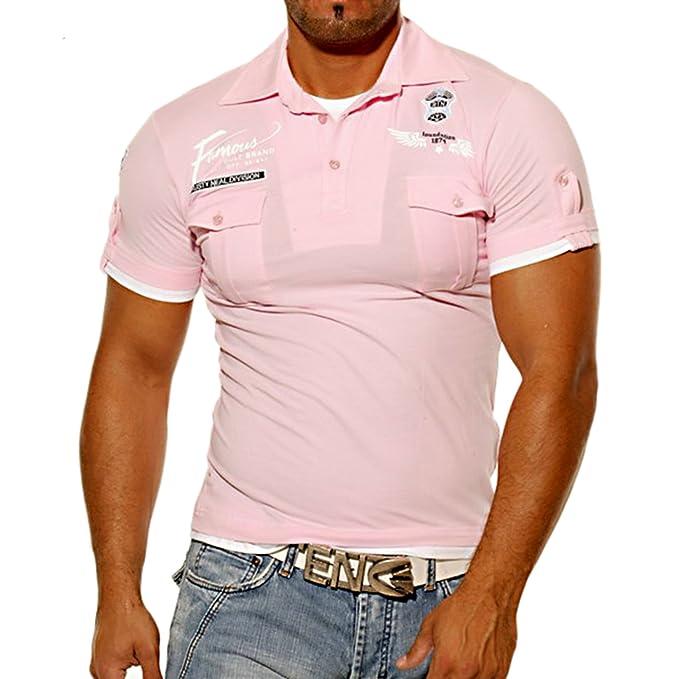 Rusty Neal Manga Corta - Camiseta de Japón Style Polo Polo Camisa ...