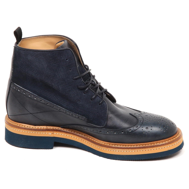 E4616 Stivaletto Hombre Azul Sax Sax Sax Scarpe Colore Non omogeneo Botas Zapatos Hombre dc02d2