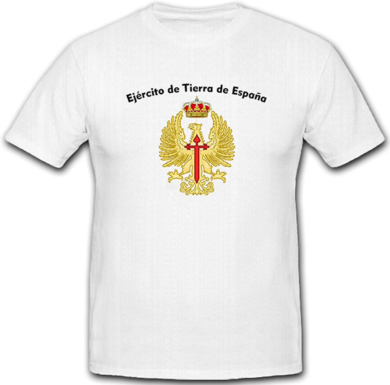 Emblema del Ejército español Ejército de Tierra de España con escudo bandera bandera – T Shirt # 5223: Amazon.es: Ropa y accesorios