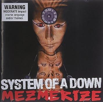 cd do system of a down mezmerize