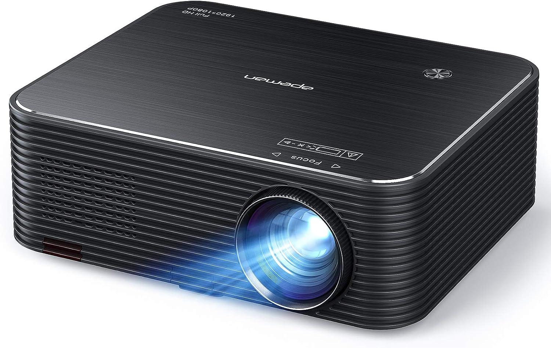 Native 1080p Beamer Apeman Full Hd Projektor 300 Elektronik