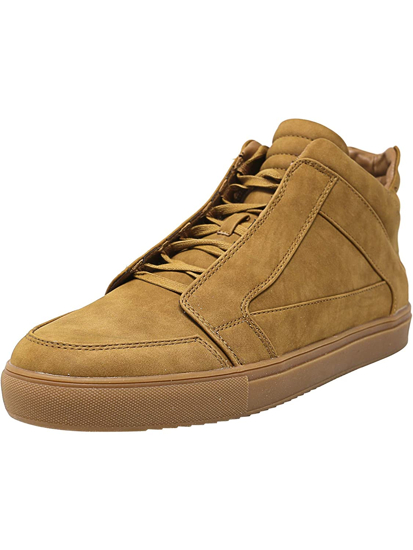 8f214c55c32 Steve Madden Men's Dodge Nubuck Mid-top Fashion Sneaker Tan 12 D(M ...