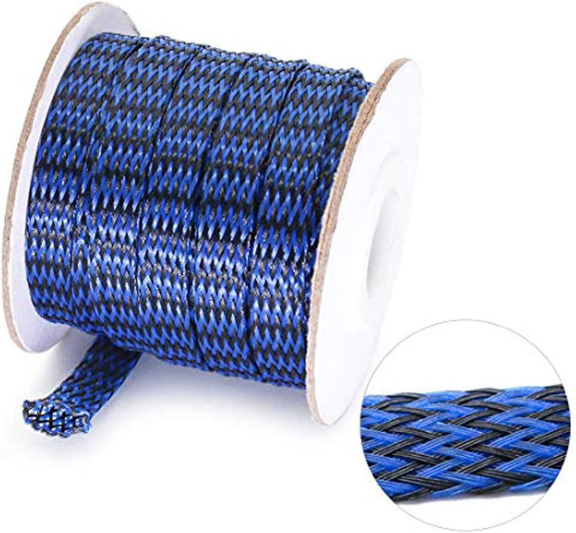 10MM x 3 Metres  High Quality  PET Nylon Expandable Sleeving Cable Wire Sheath
