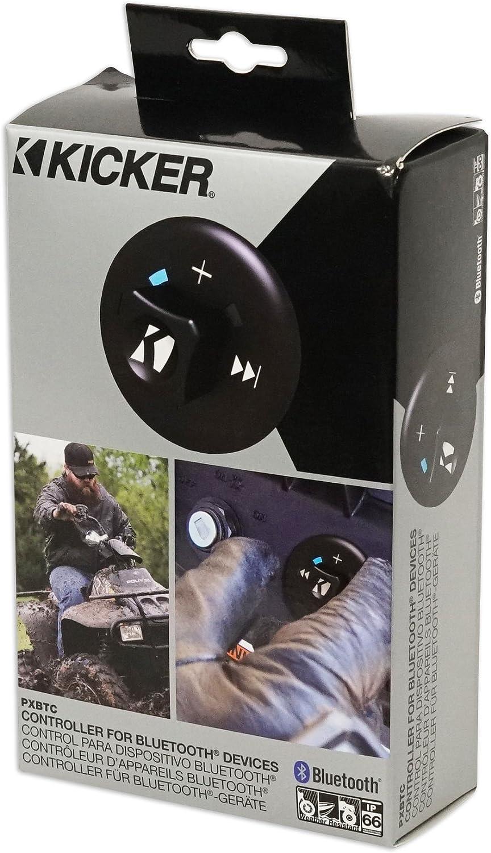 KICKER 43PXBTC Weather Proof Bluetooth Controller Polaris RZR//ATV//UTV//Cart PXBTC