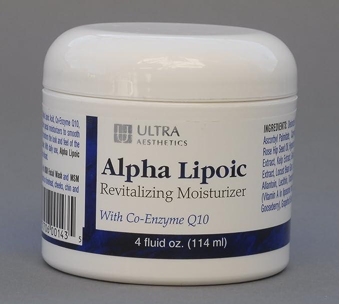 Ultra Aesthetics Alpha Lipoic Revitalizing Moisturizer 4 oz