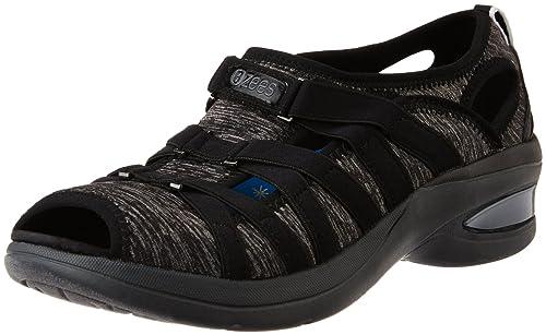 Reveal Black Fashion Sandals