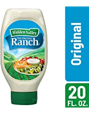 Hidden Valley Easy Squeeze Original Ranch Salad Dressing & Topping, Gluten Free, Keto-Friendly - 20 Ounce Bottle
