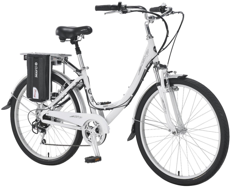 Currie Technologies カリーテクノロジーズ Women's ウーマン eZip Trailz 電動自転車 ホワイト 15インチ【並行輸入品】+NONOKUROオリジナルグッズ B00L7TJ0BS
