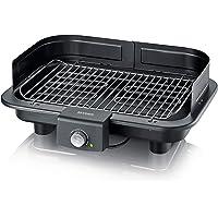SEVERIN PG 8547 Barbecue-/Tischgrill (2.500W, Grillfläche, 41x26 cm) schwarz