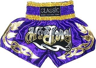 Classic Muay Thai Box Hose, Thaishort Thaiboxhosen : CLS-011