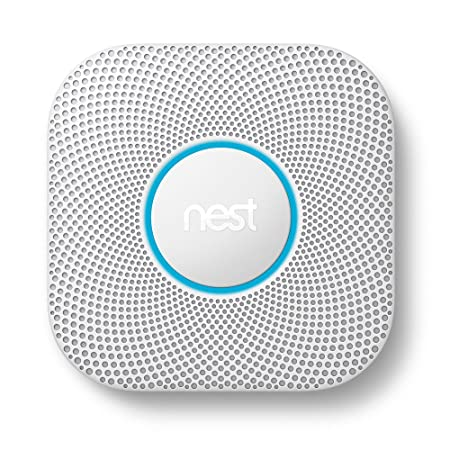 Nest Protect Smoke and Carbon Monoxide Alarm, Battery Powered Second Generation