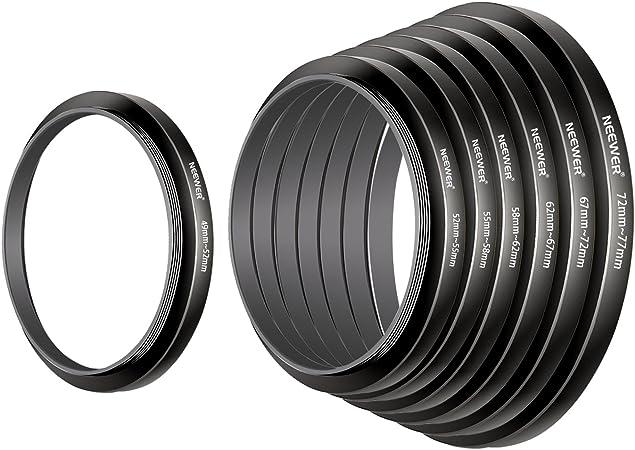77-72 mm 77mm-72mm de 77 a 72 Metal Step Down anillo escalonamiento adaptador de filtro de la lente