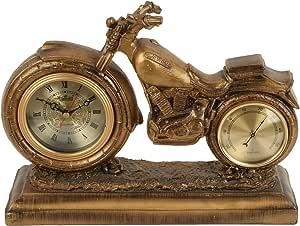 Lisheng Table Clock,Wood,Gold,1250008