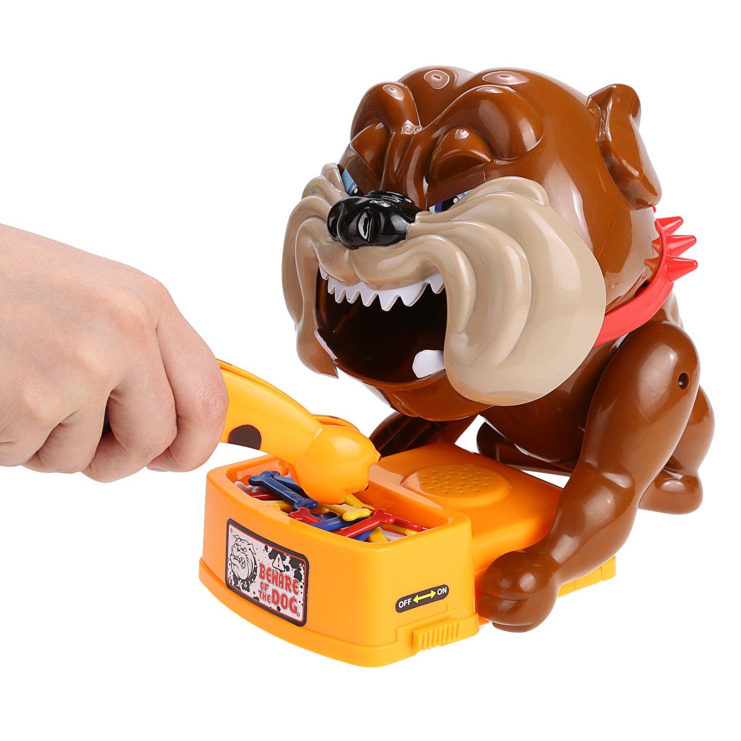 Arshiner Vorsicht vor dem Hund Kinder Spielzeug nehmen Hundeknochen elektronische Hund Sound Brettspiel