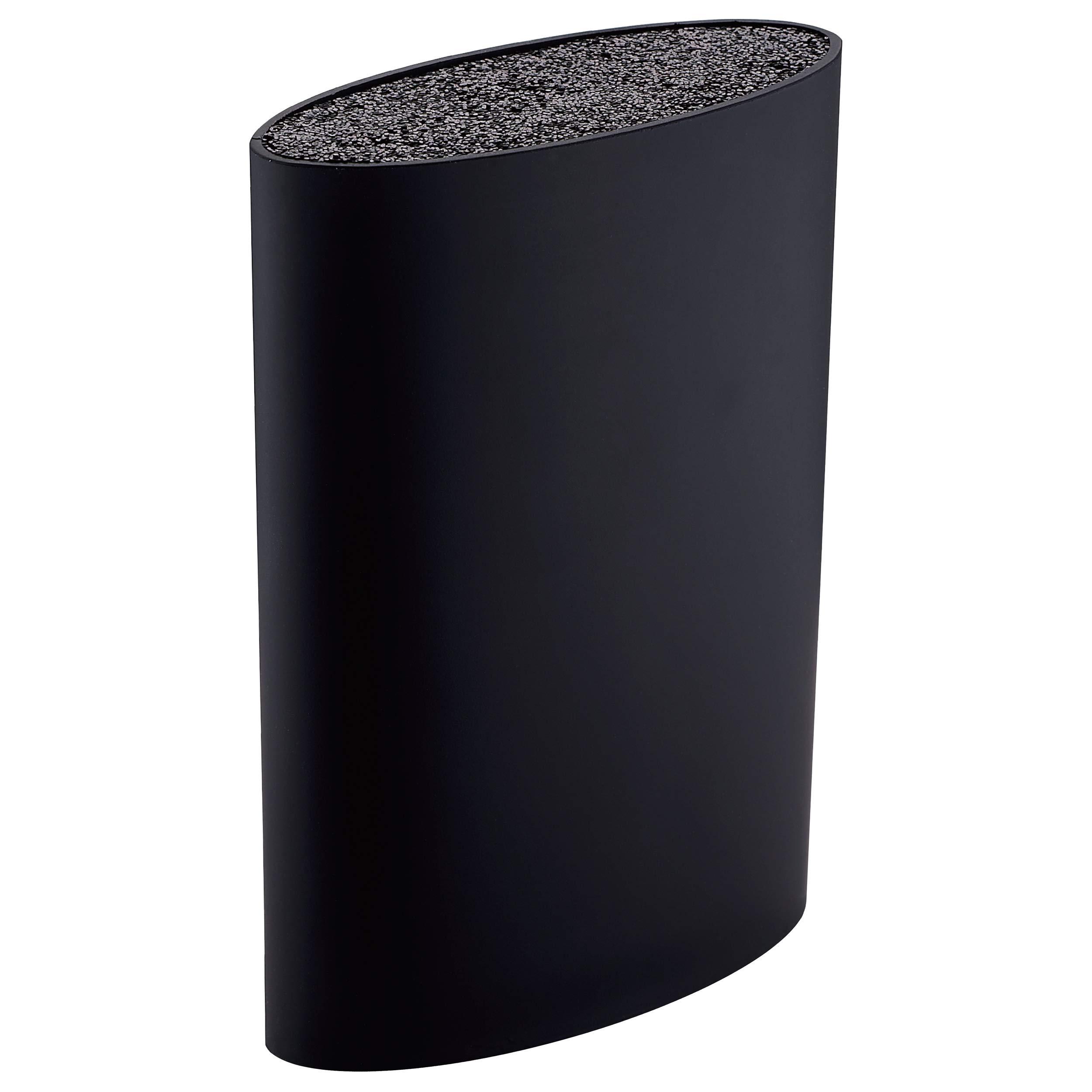 Tacoma / Bloque de cuchillos universal, gran capacidad, lavable, goma plástica, negro product image
