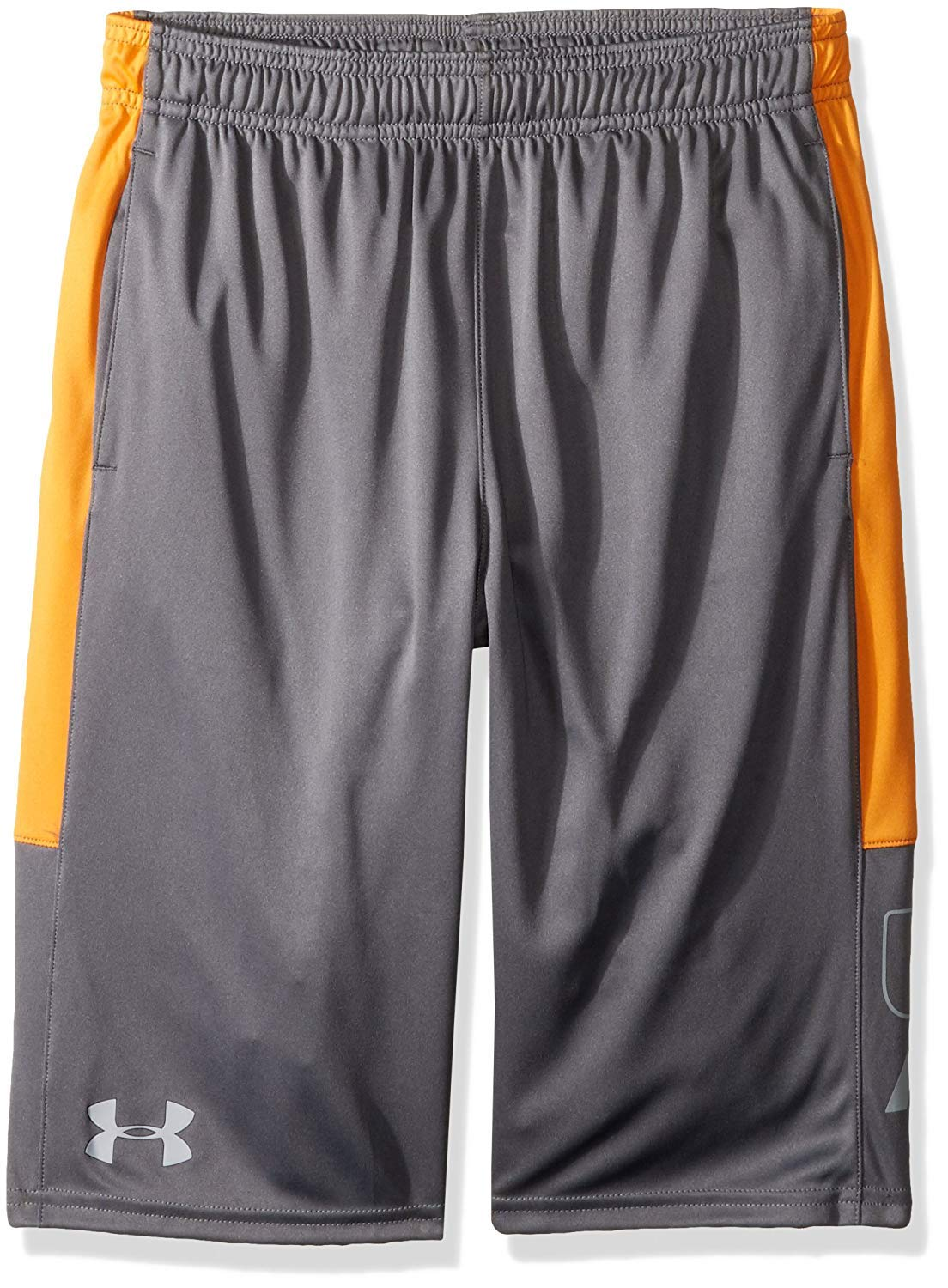 Under Armour Boys Instinct Shorts,Graphite /Overcast Gray Youth Small by Under Armour