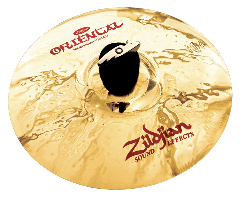 Zildjian 9'' Oriental Trash Splash Cymbal by Avedis Zildjian Company