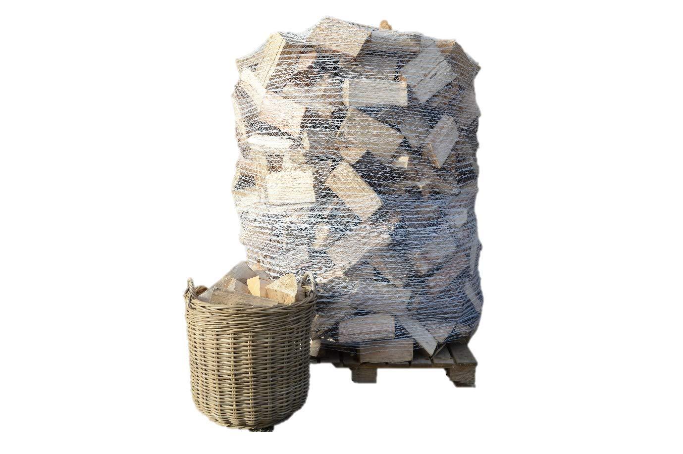 Madera de leña seca de 1,6m3 para estufas, quemadores de troncos, chimeneas y hogueras + 3 bolsas de chimenea: Amazon.es: Industria, empresas y ciencia