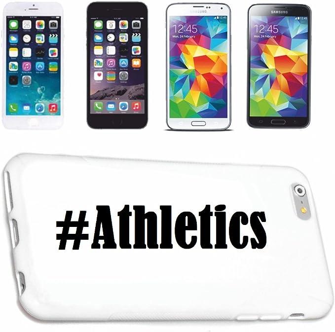 Coque iPhone 4/4S avec hashtags #athlétisme réseau Social Coque ...