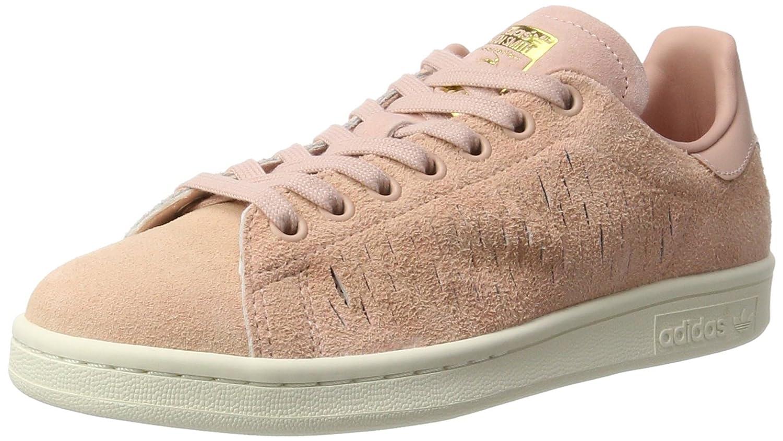 Adidas Stan Smith, Zapatillas para Mujer 40 2/3 EU Rosa (Haze Coral/Haze Coral/Chalk White)