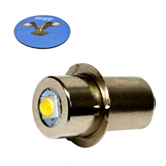 HQRP Bombilla LED de actualización nivel de máxima potencia para Ryobi Ridgid 7811502/Lowe Kobalt