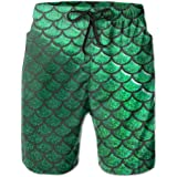 BE6h Mens Quick-Dry Lightweight Fashion Board Shorts Swim Trunks for Man Young