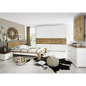 rauch Schlafzimmer-Set Davos 5-tlg., Wildeiche Nachbildung ...