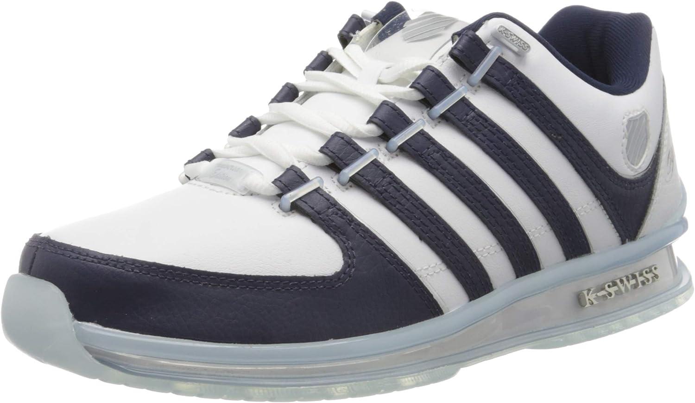 K-Swiss Rinzler 15 Yrs-Wht/Navy/Crystalclr, Zapatillas para Hombre: Amazon.es: Zapatos y complementos