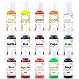 15 Color Resin Pigment,Resin Dye Resin Color Translucent Epoxy Resin Color Pigment for Resin Jewelry DIY Crafts Art…