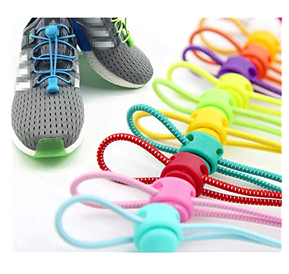 Amazon.com: Shoelaces Unisex Elastic Shoe Laces All Sneakers Fit Strap Sport Shoes Reflective Buckle Army Green 100Cm: Shoes