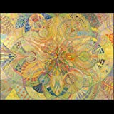 Sacred Geometry Fine Art Print Spiritual Mother's Day Gift Colored Pencil Psychedelic Art