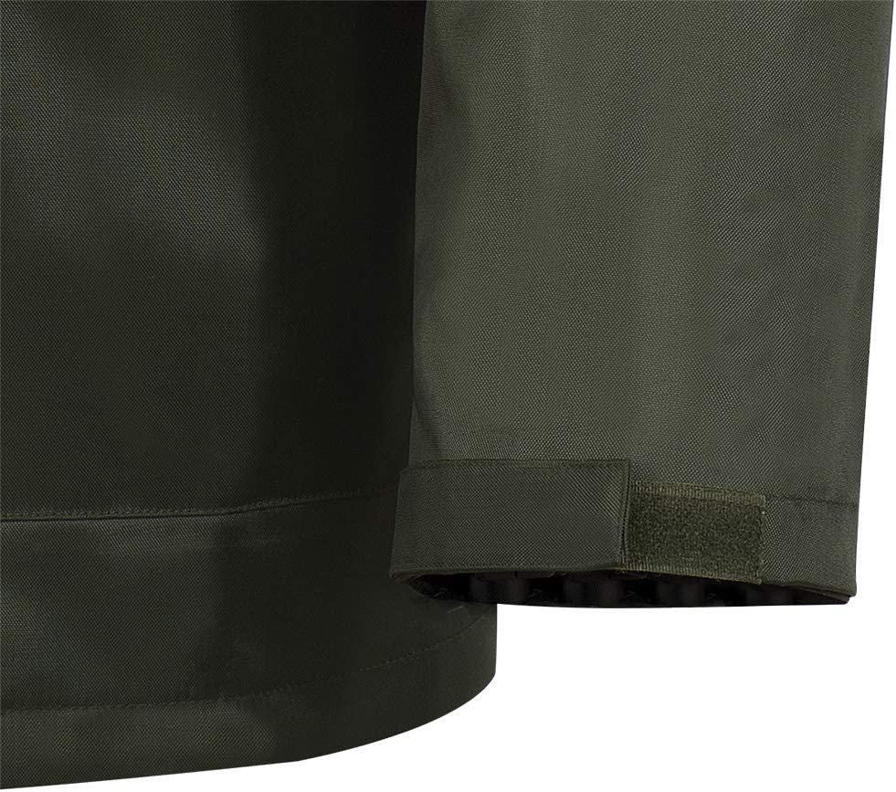 XL 2 Large Cargo Pockets Pioneer V3040340-XL Tree Planter Heavy-Duty Rain Jacket Green