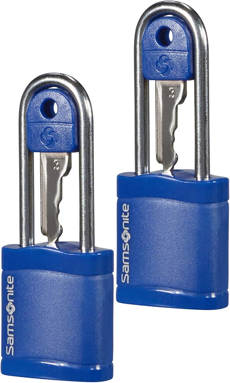 SAMSONITE Global Travel Accessories - Key Candado para Equipaje 6 Centimeters 1 Azul (Midnight Blue)