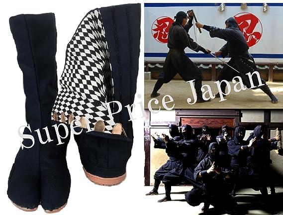 SPJ: Jikatabi acolchonado Ninja alta Top tabi botas al aire ...