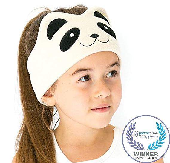 Casque Audio Enfant Modele Panda Bandeau Confortable Avec