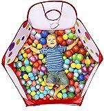 Toddler Play Tent Sea Ball Pool with Mini Basketball