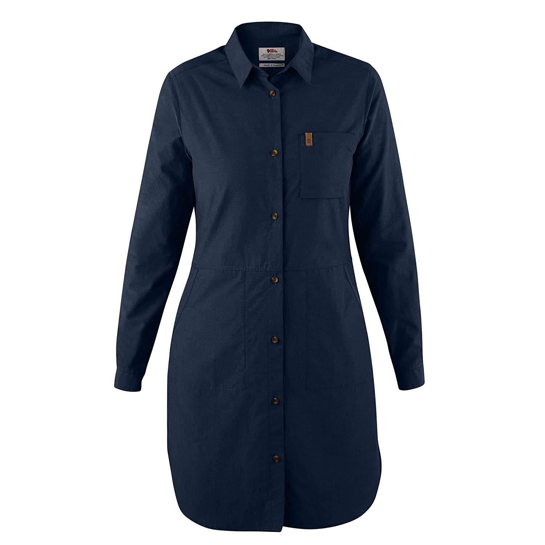 Fj¿llr¿ven Women's ¿vik Shirtdress Dark Navy XSmall