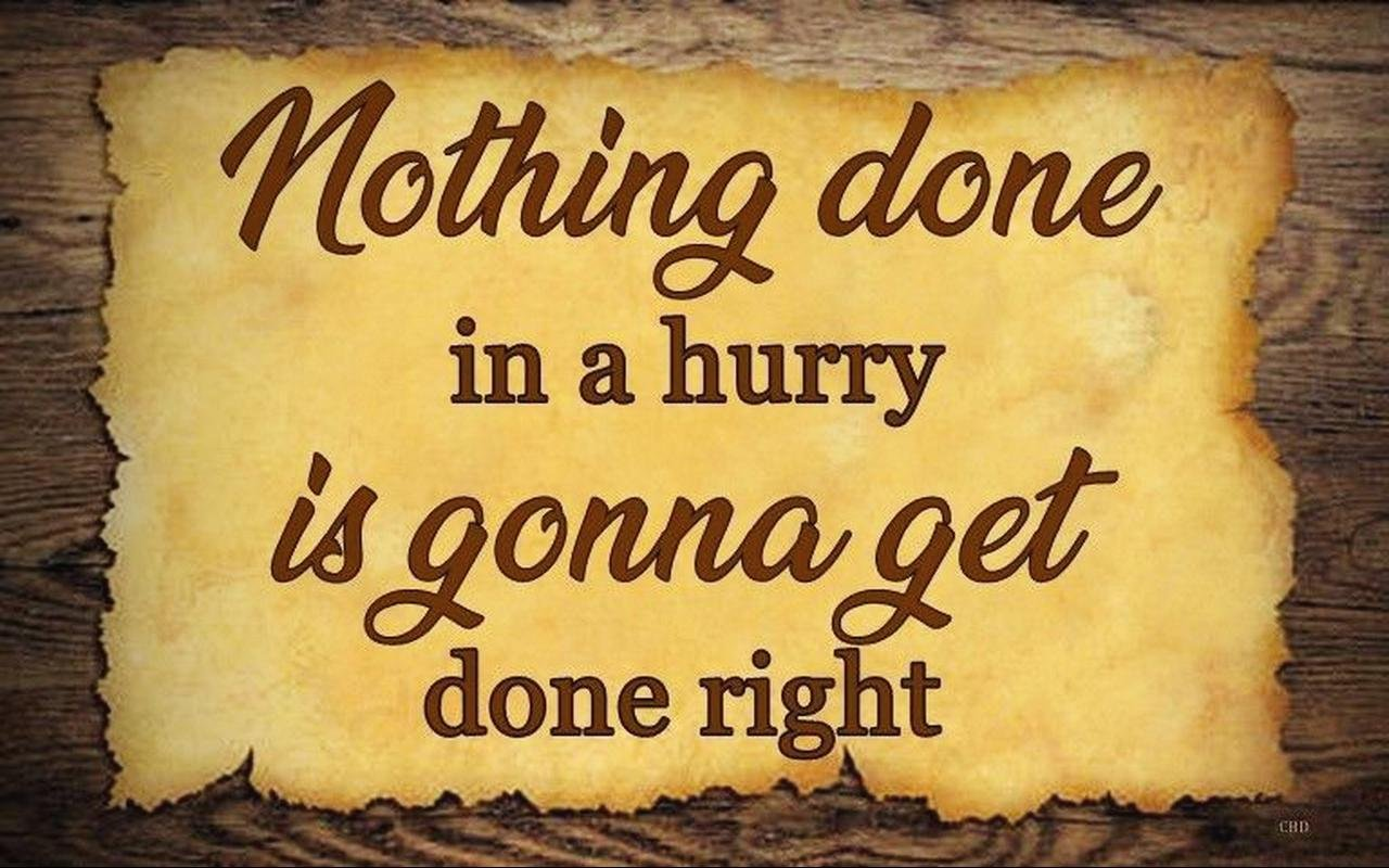 WALL DECOR Nothing Done Right PLAQUE HARD WOOD,SIGN DISTRESSED RUSTIC