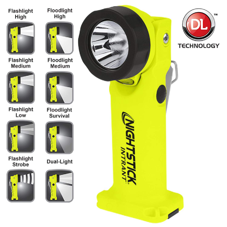 Nightstick Angle Light 3 AA Yellow 200 Lumens [並行輸入品] B07HQC4FLN