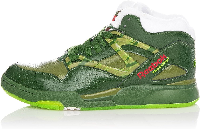 Reebok Zapatillas Abotinadas Pump Omni Lite Verde EU 41 (US 8.5): Amazon.es: Zapatos y complementos
