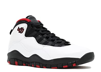 quality design 4eacf 87de3 Jordan Air Retro 10 quot Chicago 45 quot  Men s Shoes White Black-True Red