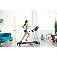 Proform 105 CST Tapis de course, 16km/h, compatible Bluetooth Appli iFit Cardio (abonnement en option), pliable, inclinaison 2 positions, bande de course 41x127cm, Usage marche, running, fitness